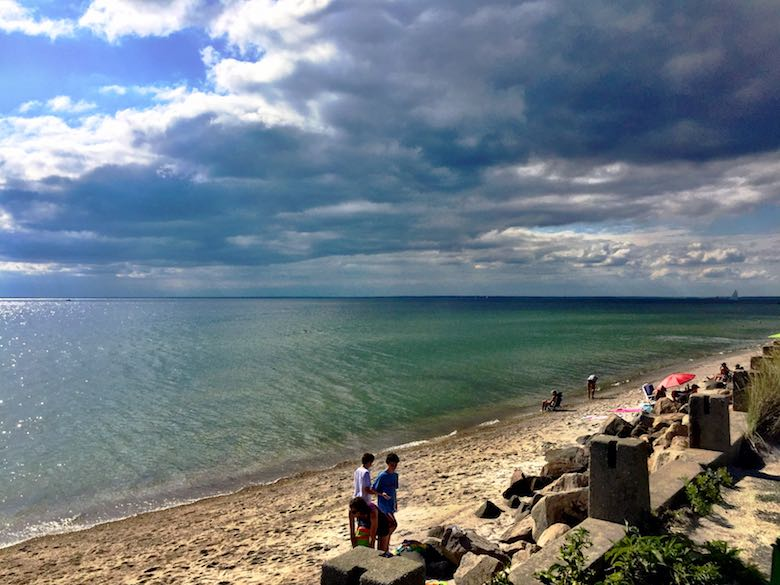A beautiful stretch of beach, a great place to celebrate the simple life in Cape Cod