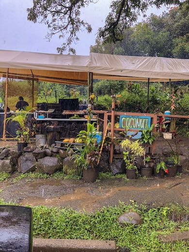 Farm stand along the Road to Hana