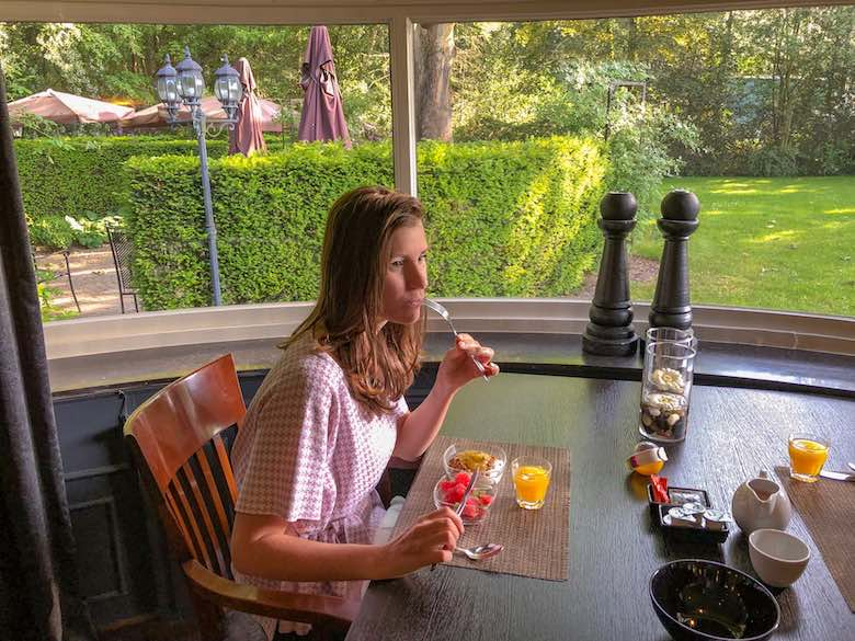 Ontbijt in Hotel Mardaga