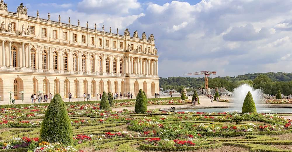 Visiting Versailles while the flowers are in full bloom makes for an unforgettable experience