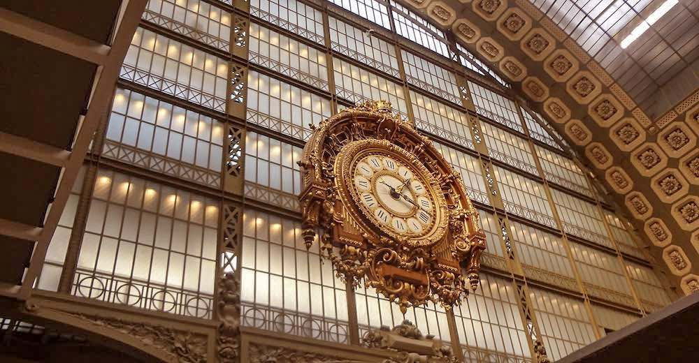 The Clock at the Orsay Museum in Paris