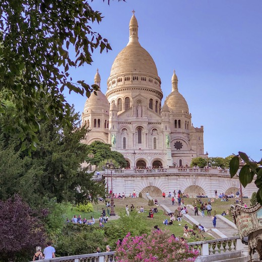 The Sacré-Coeur in Montmartre should be included in your 4-day Paris itinerary