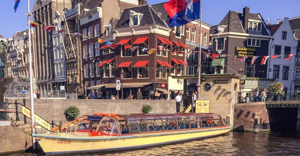The atmoshpere during an Amsterdam weekend break