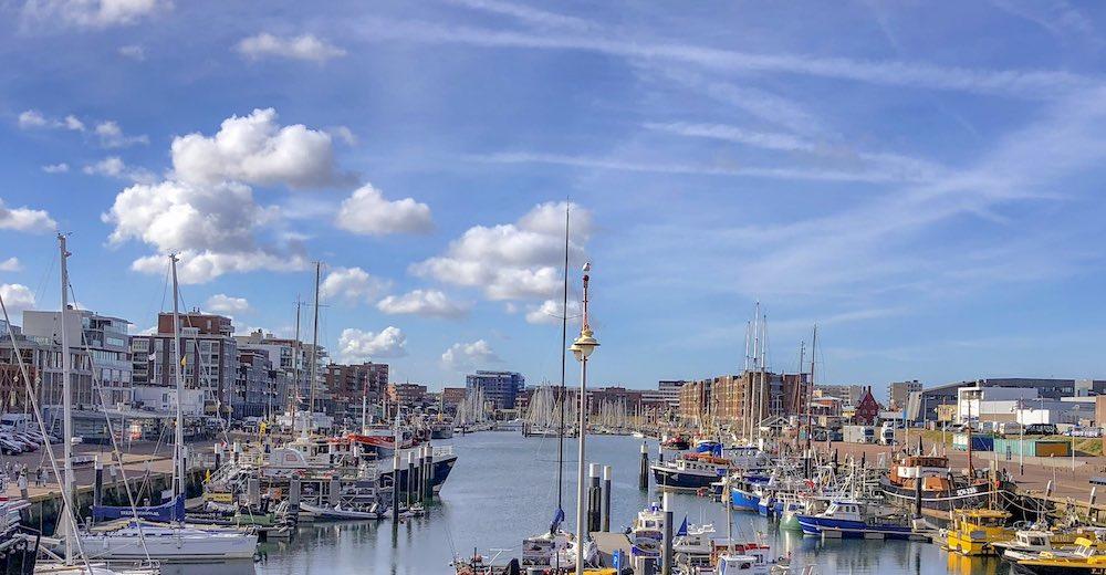 The harbour of Scheveningen