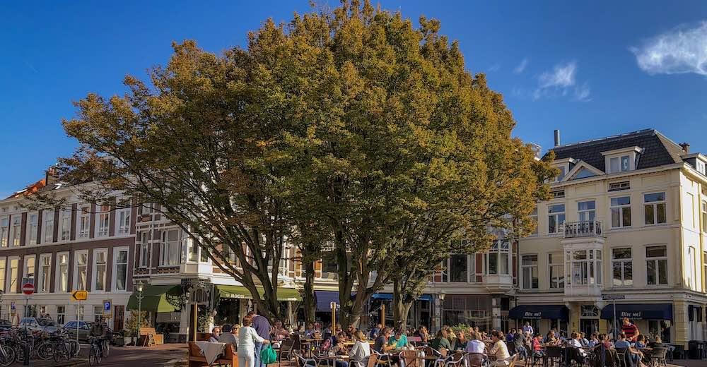 The vibrant Zeeheldenkwartier in The Hague