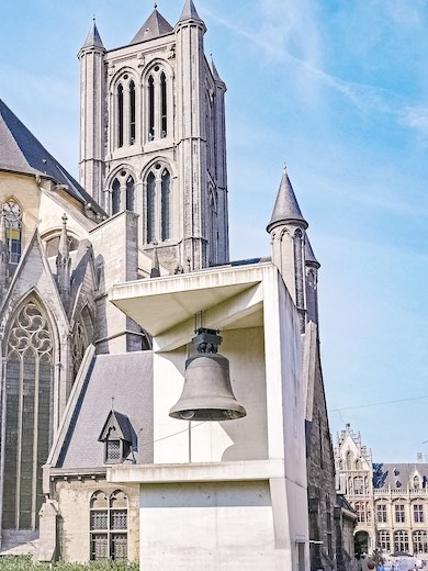 The original alarm bell of the Ghent Belfry, called Roland