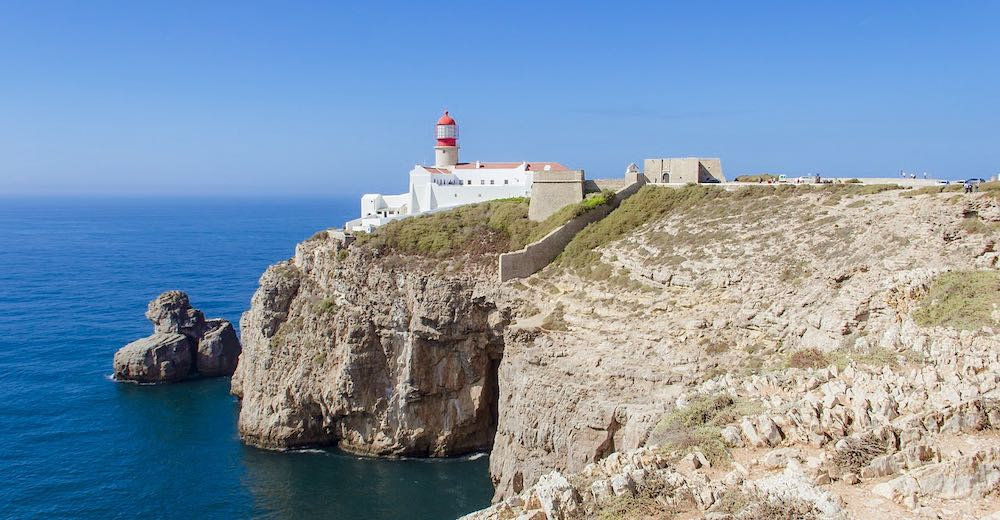 Fortaleza de Sagres along the rugged western Algarve coast is one of the unmissable places to see in Portugal
