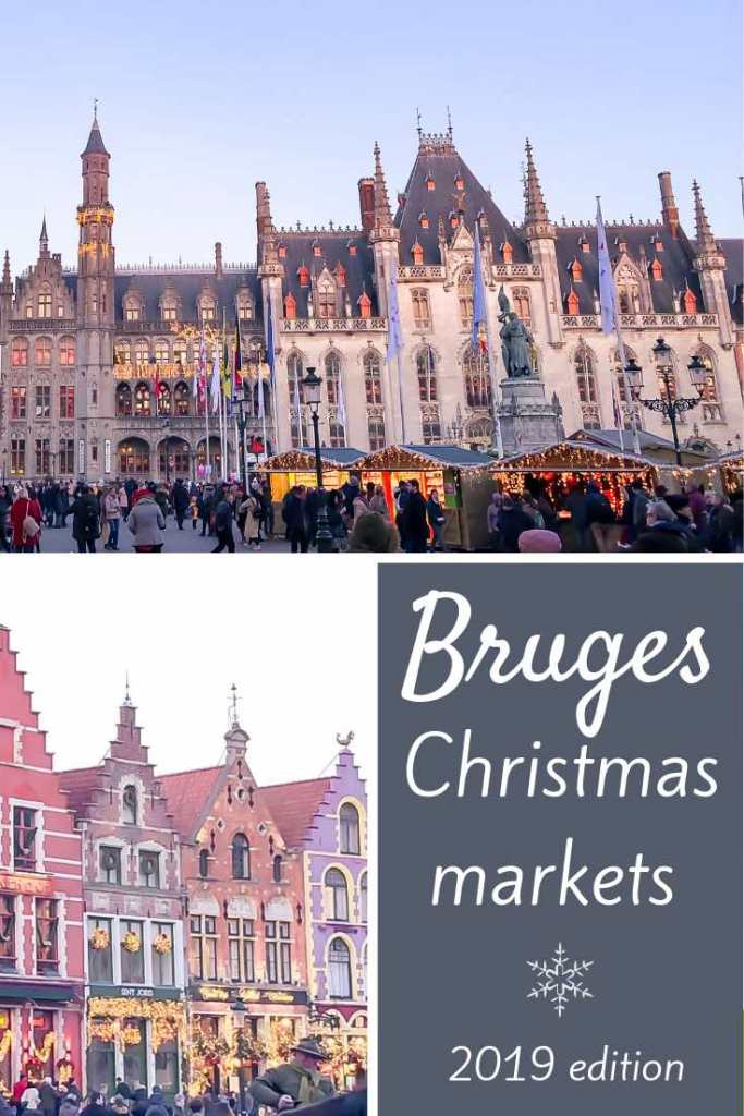 The Bruges Christmas markets are among the most magical in Europe. Read here where to find them and how to spend an unforgettable Christmas in Bruges. #travel #europe #belgium #bruges #christmas #winter