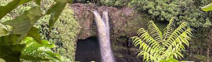 5 Spectacular Hawaii Big Island waterfalls