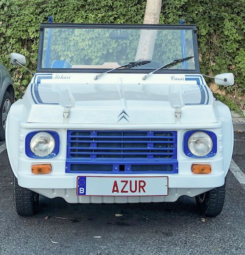 A Citroen Mehari in the South of France