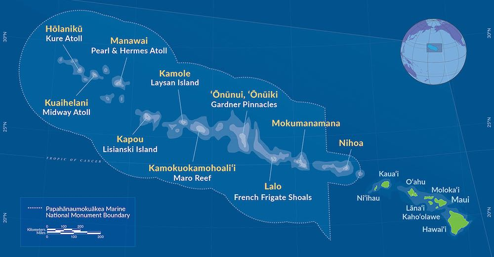One of the most surprising facts about Hawaii is this Papahanaumokuakea Marine National Monument