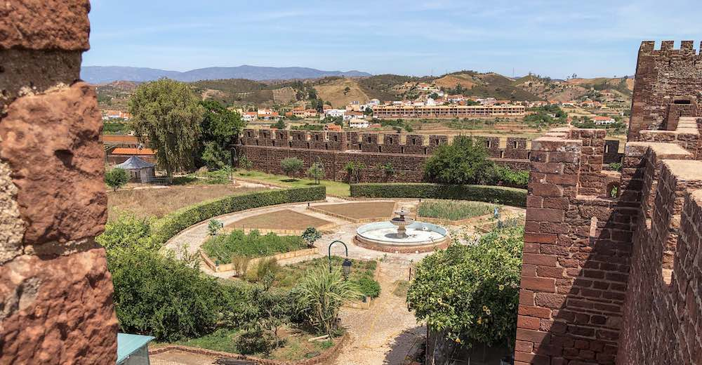 The gorgeous views from Silves Castle make it one of the best places in Portugal to see