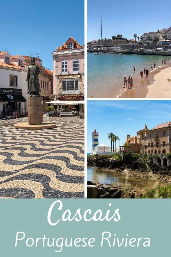 From wandering the pastel-colored historic town and relaxing on the beaches to visiting the Art District and some gorgeous sights nearby this seaside gem, here's our take on the best things to do in Cascais Portugal. #travel #europe #portugal #cascais #lisbon