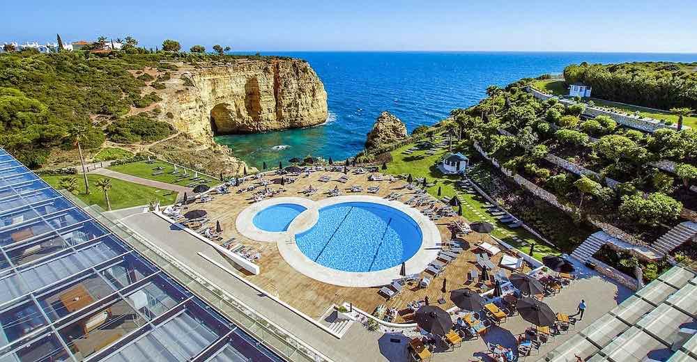 Carvoeiro hotel Tivoli offers stunning views over Vale de Covo beach
