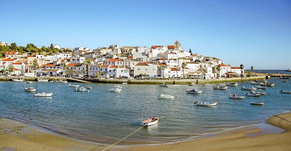 Ferragudo is a fishing town near Carvoeiro
