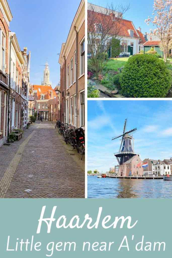 Haarlem is a gorgeous little city near Amsterdam, a true little gem yet often overlooked. This article is here to show you why you should visit it next time you're in The Netherlands. #travel #europe #netherlands #holland #amsterdam