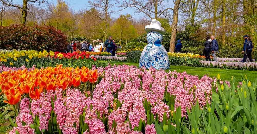 Plenty of colors await during the Keukenhof Gardens 2020