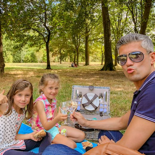 Picnic in the Park of Versailles