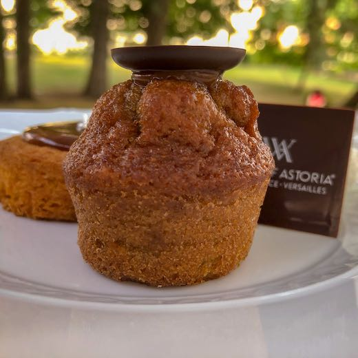 Afternoon tea at the Waldorf Astoria Trianon Palace Versailles