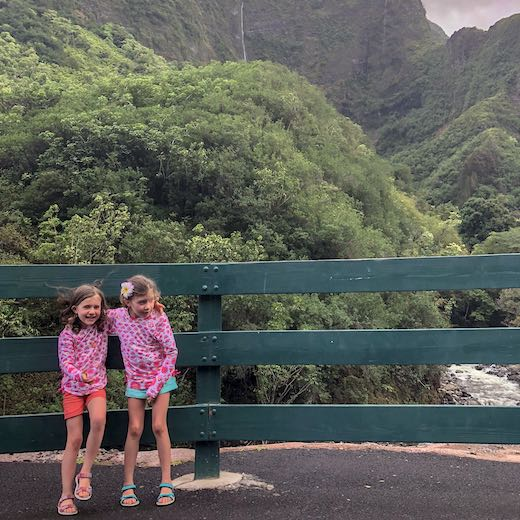 Hawaii best island for families with young kids is Maui