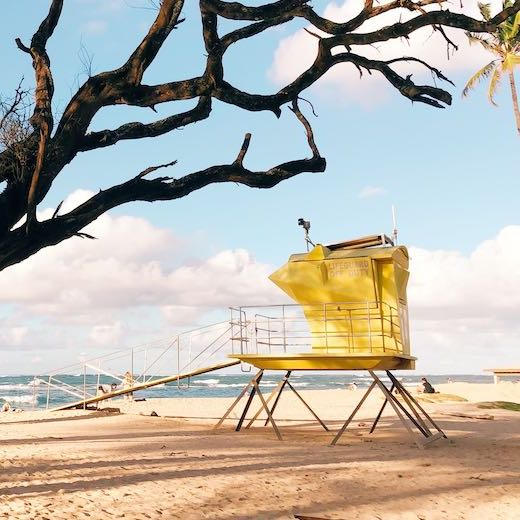 Going to the beach is one of the best Maui things to do with kids