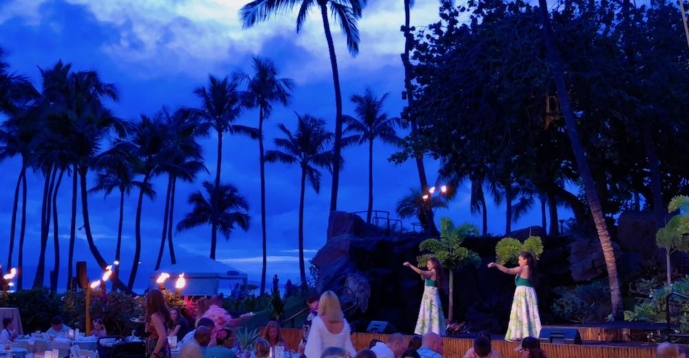 Attending a luau is one of the most family friendly activities on Maui