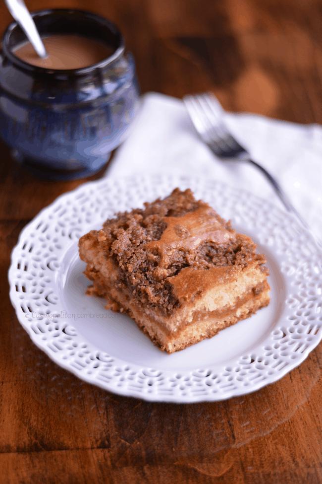 Pumpkin Coffee Cake from Cosmopolitan Cornbread