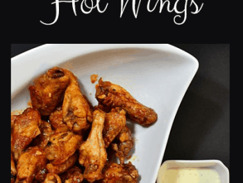 How to make Baked Hot Wings from Cosmopolitan Cornbread
