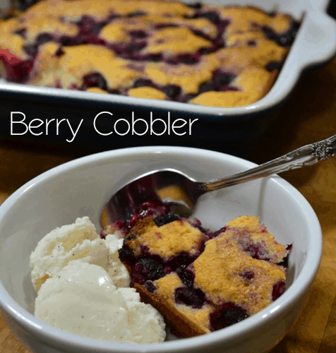 Berry Cobbler from Cosmopolitan Cornbread