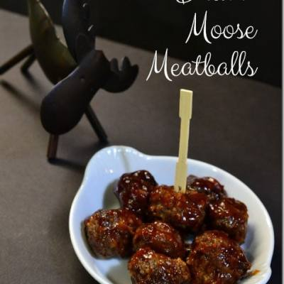 Drunk Moose Meatballs | A Cocktail & Appetizer Collection for Your Holiday Parties