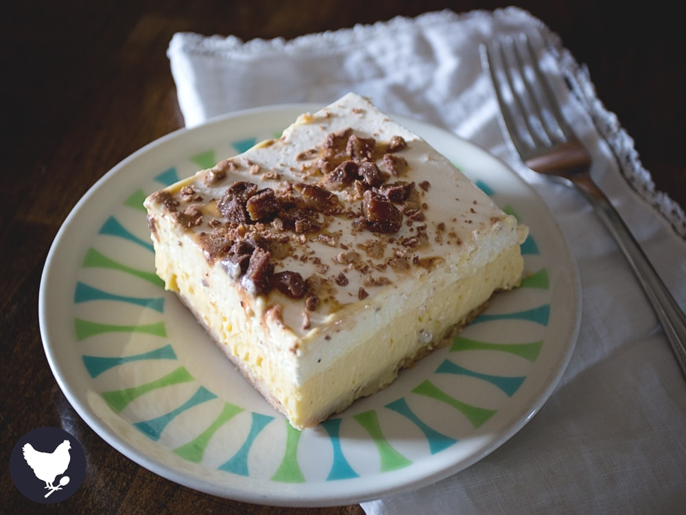 Grandma Dahl's Ice Cream Dessert - This creamy dessert has the yumminess of ice cream, but no need to make space in your freezer.