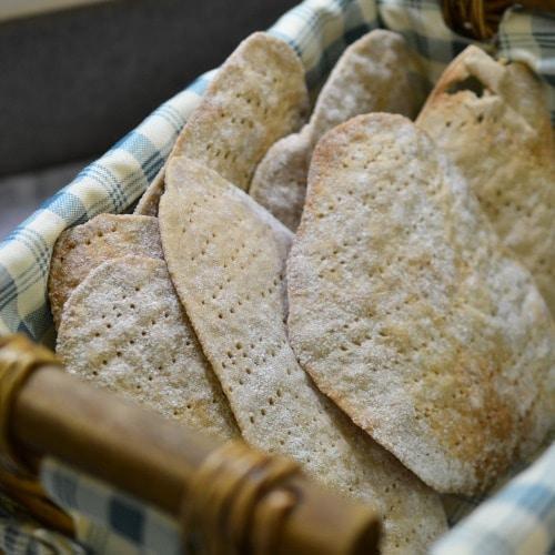 Homemade Matzo for Passover