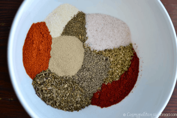 Homemade Creole Seasoning from Cosmopolitan Cornbread