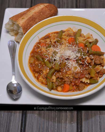 Italian Vegetable Soup from Cosmopolitan Cornbread