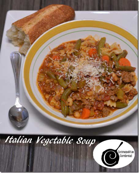 Italian Vegetable Soup from Cosmopolitan Cornbread