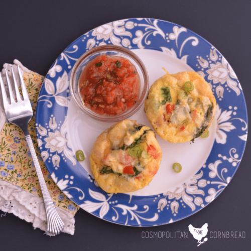 Veggie Omelette Cups