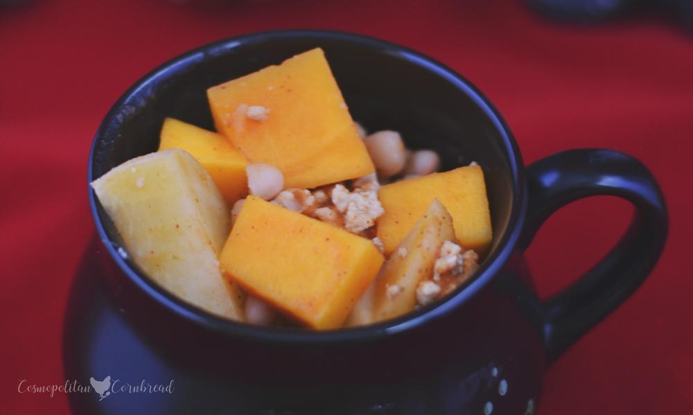 Pumpkin and Butternut Squash Chili from Cosmopolitan Cornbread