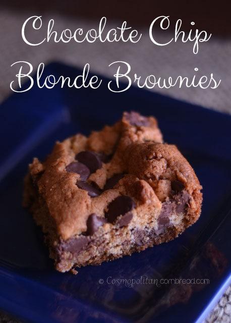 Chocolate Chip Blonde Brownies