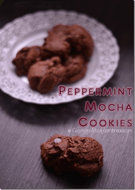 Peppermint Mocha Cookies from Cosmopolitan Cornbread