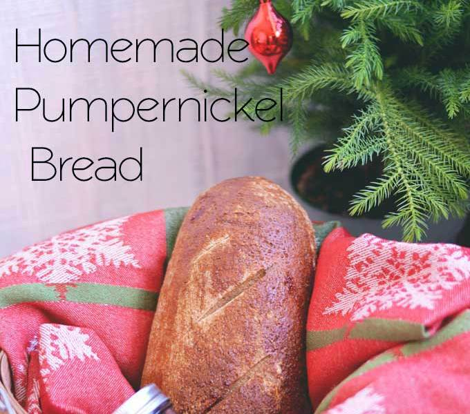 Homemade Pumpernickel Bread & Ideas for Gifts from the Kitchen
