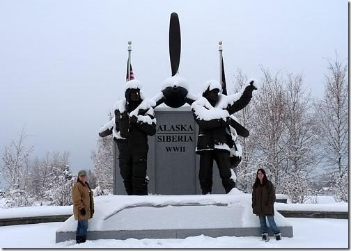 Sight Seeing Around Fairbanks