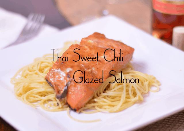 Thai Sweet Chili Glazed Salmon