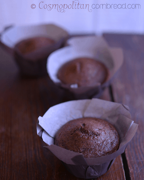 Mocha Latte Chocolate Chip Muffins from Cosmopolitan Cornbread