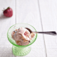 Simple and delicious Strawberry & Chocolate Cheesecake Ice Cream from Cosmopolitan Cornbread