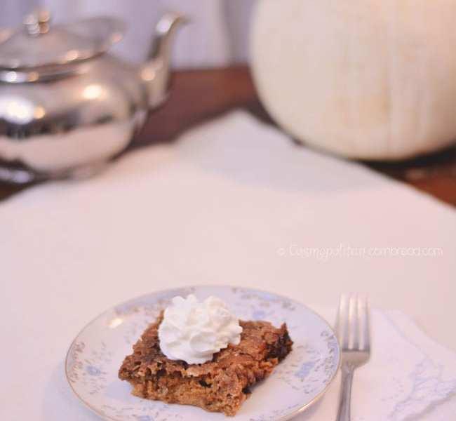 Pumpkin Crisp | Over 40 Recipes for Fall