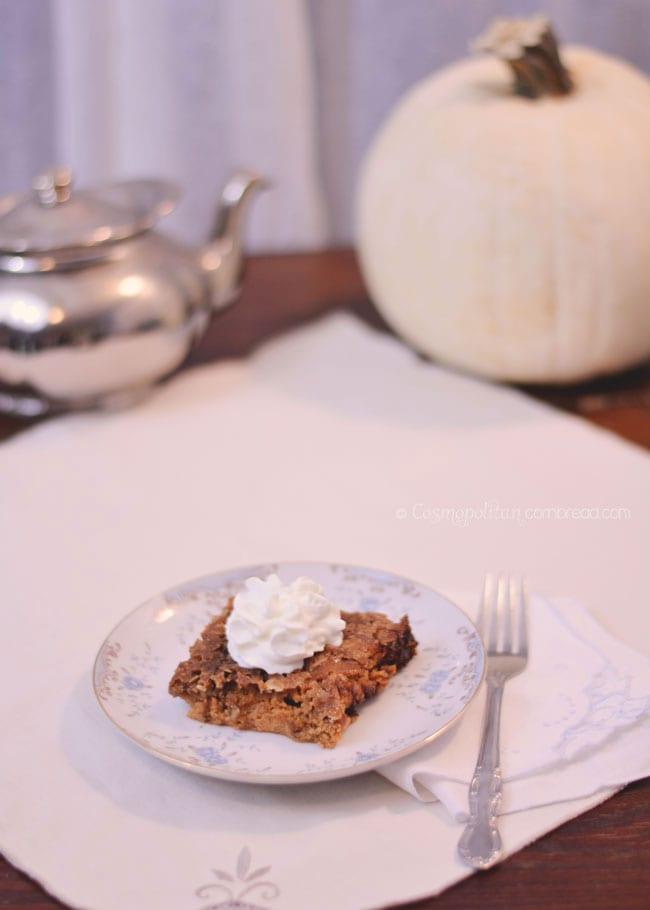 Pumpkin Crisp | Fabulous Fall Recipes