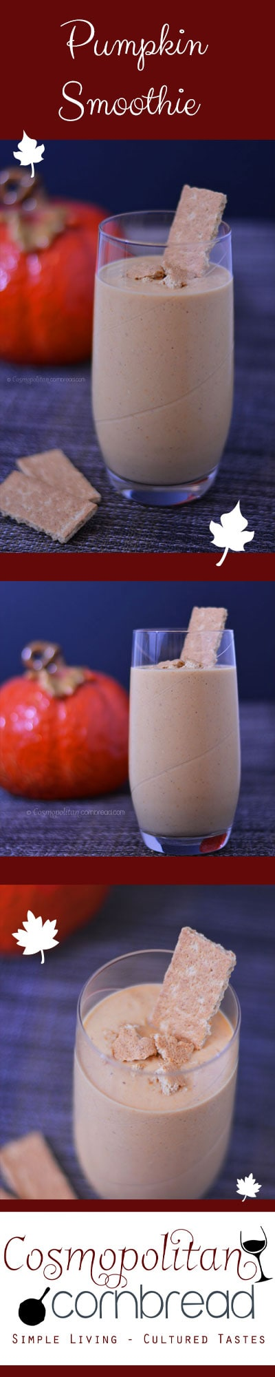 Pumpkin Smoothie from Cosmopolitan Cornbread