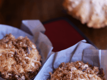 Pumpkin Streusel Muffins from Cosmopolitan Cornbread