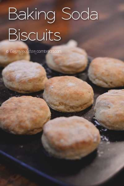 Classic and delicious Baking Soda Biscuits - find out how to make them from Cosmopolitan Cornbread