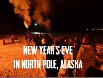 New Year's Eve in North Pole, Alaska | Cosmopolitan Cornbread